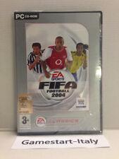 FIFA FOOTBALL 2004  - PC COMPUTER - VIDEOGIOCO - NUOVO SIGILLATO NEW