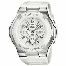 *BRAND NEW* Casio Baby G-Shock Digital White Resing Strap Watch BGA110-7B