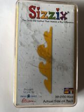 Sizzix Orginals Yellow Die Wave New Discontinued Retired Rare Paper Crafting