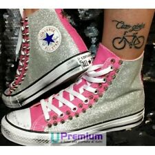 Converse All Star La Playa Pink Glitter [Product Customized] Shoes Stud