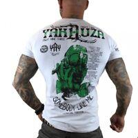 "YAKUZA - Herren T-Shirt TSB 7009 ""Somebody Like Me"" white (weiß), Größe 5XL"