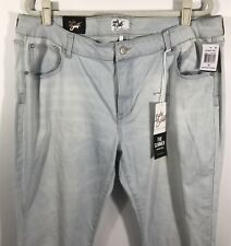 Celebrity Pink Jeans Size 20 Skinny Ripped Light Wash Body Sculpt The Slimmer