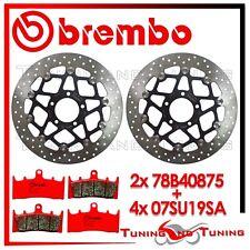 Dischi Freno Anteriore BREMBO + Pastiglie SINTER SA SUZUKI GSX-R 1000 2001 2002