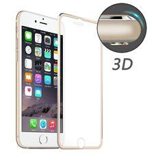 Für Apple iPhone 8 Panzerfolie Echtglas Displayschutz 0.20 mm 3D Full Size gold