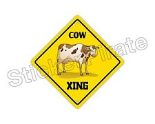BRAHMAN XING Cow Aluminum Sign