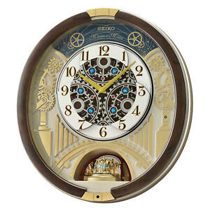 Seiko Melodies in Motion Wall Clock 2020 Swarovski Crystals - LIMITED EDITION