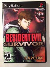 Resident Evil Survivor - Playstation - Replacement Case - No Game