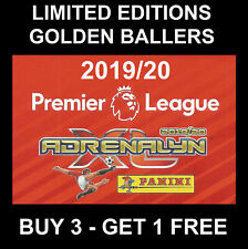 Panini LIMITED EDITION / GOLDEN BALLER Premier League 2019/20 Football cards