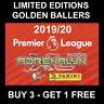 Panini LIMITED EDITION / GOLDEN BALLER Premier League 2019/20 Football cards