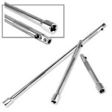 """3 Piece Locking Extension Bar Set for 1/4"""" Drive Ratchet Wrench Socket Tool"""