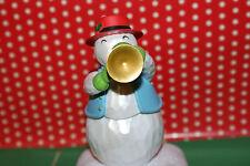 "Christmas Hallmark Snowman ""Tom"" (on Trumpet) 2010 Wireless Band"