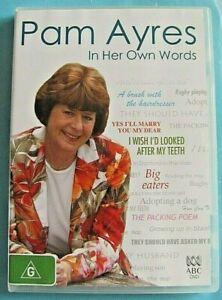 PAM AYRES In Her Own Words DVD Region 4 see below