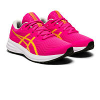 Asics Girls Patriot 12 GS Boys Running Shoes Trainers Sneakers Pink Sports