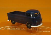 Brekina 32958 VW T1b Pritsche Economy dunkelblau Scale 1 87