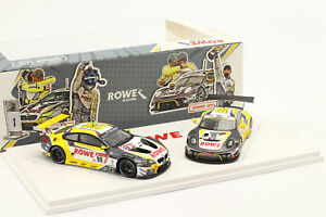 2 Car Set Rowe Porsche 911 GT3 R Winner 24h Spa & BMW M6 GT3 24h Nürburgring 20