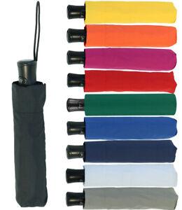 Regenschirm Mini Taschenschirm Damen-Herren Auf-Automatik leicht und stabil