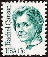 US Postage Scott 1857 17¢ Rachel Carson 1+1 = 2 stamps MNH Singles