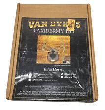 "Van Dyke's Taxidermy Kit Buck Horn Mount Deer 10"" x 13""x 5/8"""