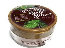 Trader Joe's Coconut Oil Body Butter with Shea Butter & Vit E NEW w/ Seal 8OZ