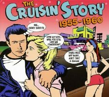 The Cruisin' Story 1955-1960 3-CD NEW SEALED Chuck Berry/Bill Haley/Buddy Holly+
