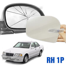 Replacement Side Mirror RH 1P + Adhesive for Mercedes-Benz 1997-2000 Car