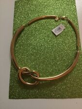 Michael Kors MKJ4361Brilliance Knot Gold-Tone Necklace Spectacular NWT