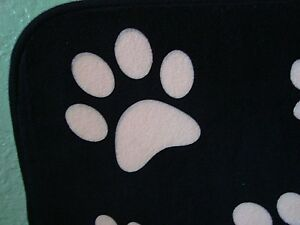 "Memory Foam Pet Mat~ Luxe Pet Life~ Brown w/ Pink Paws~ 17"" X 24"" ~ NEW"