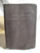 SCARCE! New American Business Cyclopedia 1924 RARE ENLARGED EDITION BOOK [Misc.