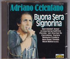 Adriano Celentano-Buona sera accomodarvi-CD CAROSELLO GERMANY NEAR MINT!