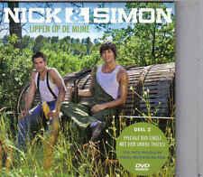 Nick&Simon-Lippen Op De Mijne cd maxi single incl videoclip cardsleeve
