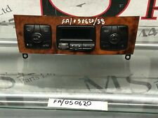 (AS) MERCEDES BENZ W220 S CLASS A/C HEATER CLIMATE CONTROL UNIT A2208301185