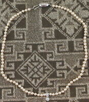 COLLANA BAMBINA PERLE ARGENTO ART DECO 1920 NECKLACE BABY PEARL SILVER