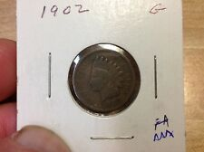 1902 Indian Head Cent at Wholesale, 1 coin