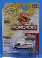 JOHNNY LIGHTNING 1:64 POP CULTURE MONOPOLY with Game Piece 1977 Dodge Van