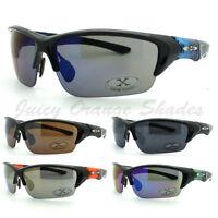 Mens Sports Sunglasses X-Loop Half Rim Wrap Around Golf Baseball 7 Colors New