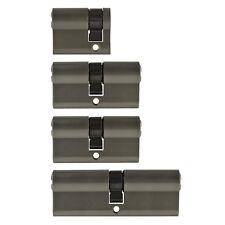4x Tür Zylinder Schloss 40/60/80mm gleichschliessend +5 Schlüssel Schliessanlage