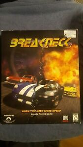 BreakNeck (PC, 2000) Game *Rare* Game Manual and LG Box