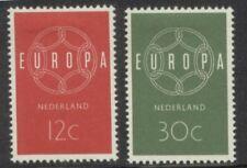 NVPH 727-728 Europazegels 1959 postfris (MNH)
