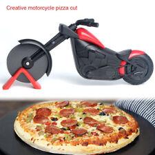 Pizza Wheel Cutter Chopper Slicer Home Kitchen Gadget Motorcycle Stainless Steel
