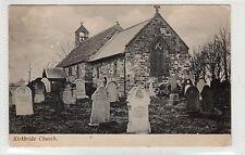 KIRKBRIDE CHURCH: Cumberland postcard (C25476)