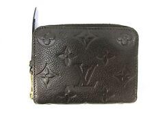 Auth Louis Vuitton Monogram Empreinte Zippy Coin Purse M60553 Leather Good 91674