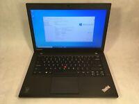 "Lenovo ThinkPad T440 14"" Laptop Intel i5-4200U 1.6GHz 4GB 640GB Windows 10 -RR"