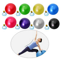 55cm Yoga Exercise Gym Swiss Ball Pregnancy Fitness Anti Burst with Air Pump