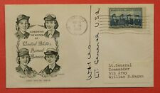 1953 LT GENERAL WILLIAM KEGAN SIGNED FDC COVER WOMEN IN ARMED SERVICES