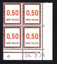 FRANCE TIMBRE FICTIF F210 ** MNH, coin daté 24.2.78, TB