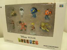 Disney Pixar Mini Figurines 8 Piece Figure Gift Set Thinkway Toys NIB