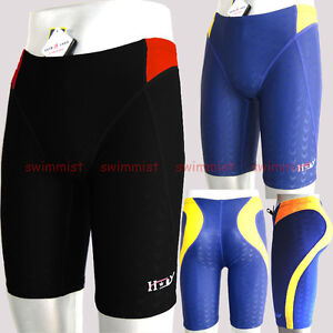NWT HXBY 1303 MEN'S COMPETITION TRAINING RACING JAMMER SWIMMING TRUNKS ALL SIZE!