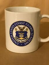 Ceramic United States Coast Guard Academy Coffee Mug - 16 oz EXCELLENT CONDITION