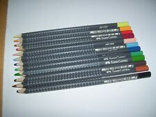 Lot of 12 Different Assorted Faber Castell Art Grip Color Coloring Pencils