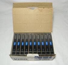 VISO VX-90 (QTY 10pcs) Audio Cassette Tape Sealed - Blanck Cassettes